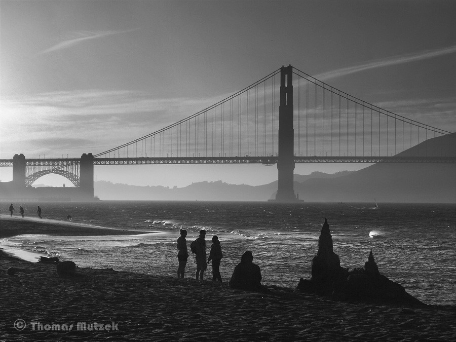 Crissy Field Beach, San Francisco, 2009