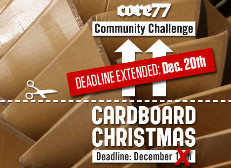 Cardboard Christmas
