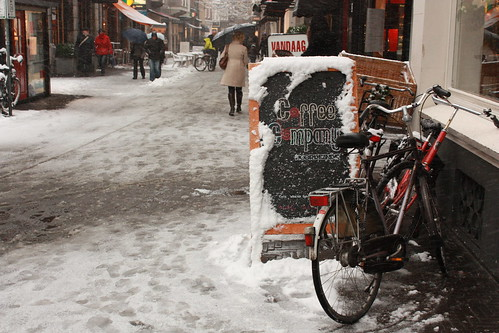 Snow - The Hague