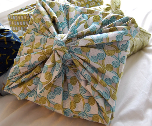 Recycled wrapping