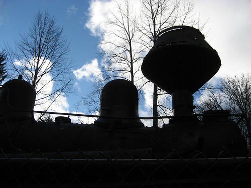 Locomotive silhouette
