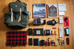 (theworldisours) Tags: polaroid cycling sweden fjllrven muji whatsinyourbag clog rapha hasselblad500cm rouleur kodakportra fjallraven polaroidback sekonicl758dr markreimer iphone3gs shopclassassoulcraft fjallravenvintage20l