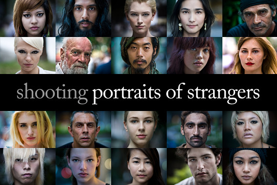 Portraits of Strangers by Danny Santos II