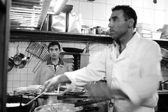 """Le Chef"" - No. 8 (Thomas Leuthard) Tags: street leica white black training photography video flickr fuji thomas streetphotography olympus monochrom ebook omd hcb leuthard streettogs thomasleuthard"