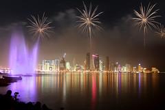 Qatar National Day (AliAljaber7) Tags: firework doha qatar 2010 do7a qtr قطر الدوحة نارية q6r العاب