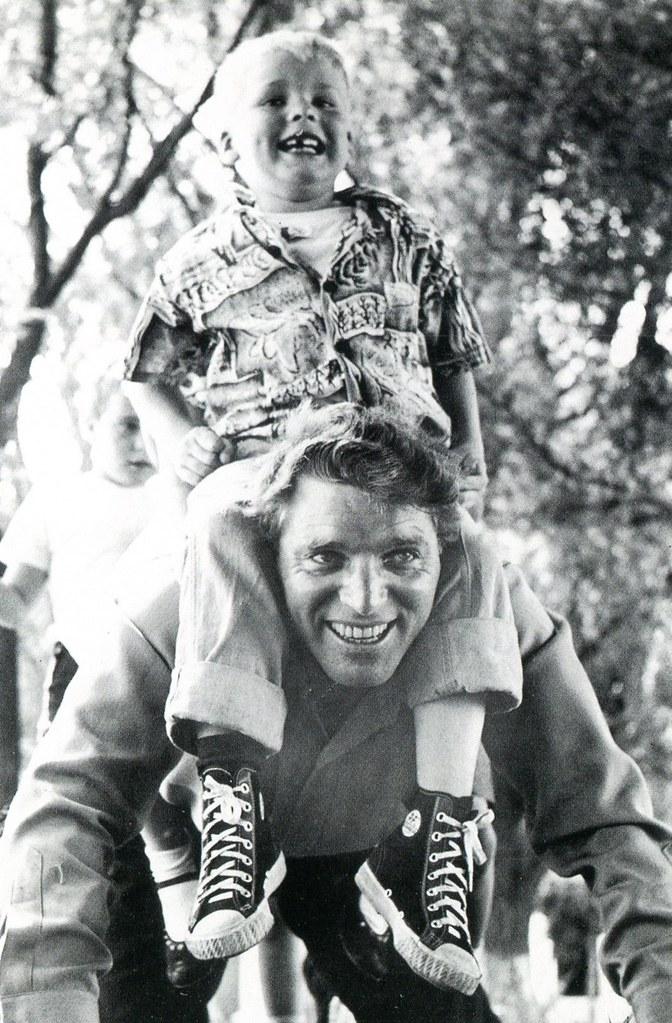 Burt and Bill Lancaster