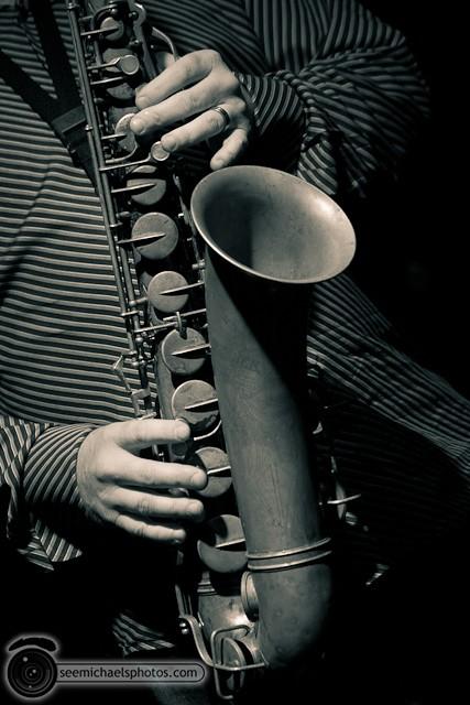 Jason Robinson Quintet at Dizzy's 121810 © Michael Klayman-021