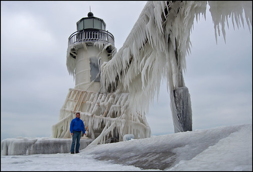 Me at the St. Joseph Light