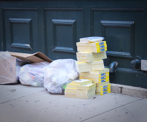 Recycling the NEW Yellowbooks