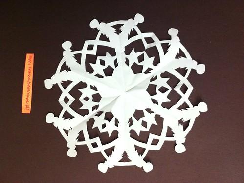 Diana's snowflake