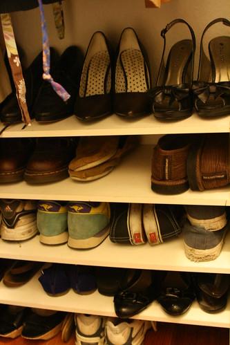closet: shoes