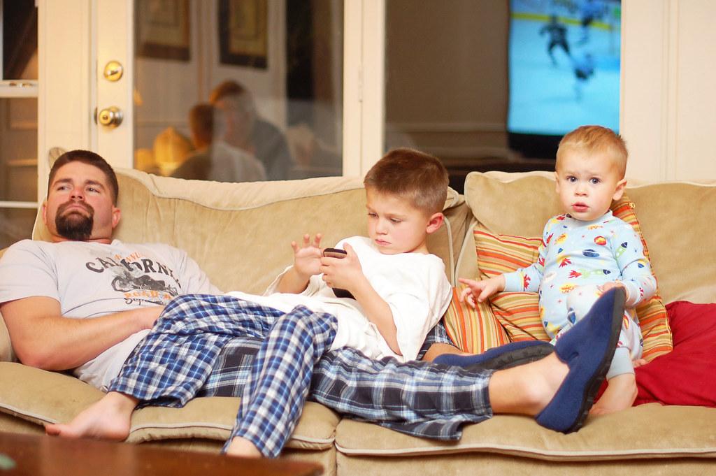 Daddy, Peyton, Tatum 2010