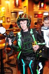 TRON Legacy RPF group (Anniss) Tags: costume sam cosplay guard illuminated lightup siren flynn designers 2010 daftpunk moviepremiere elwire clu rpf identitydisc tronlegacy electroluminecent quorra
