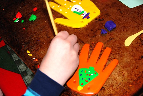 Sculpy hands