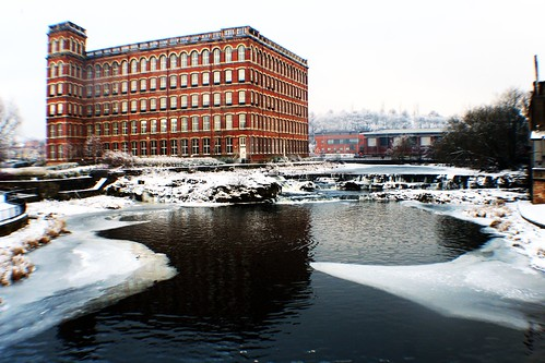 Anchor Mill Paisley in Winter