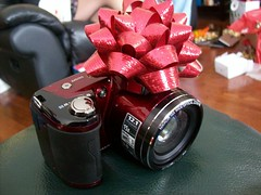 2010/25/12 (jazzijava) Tags: christmas camera new xmas red photo nikon awesome gift coolpix l110