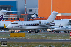 HB-JFZ - 5510 - Nomad Aviation - Canadair CL-600-2B16 Challenger 604 - Luton - 101201 - Steven Gray - IMG_4893