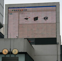 Screen down in town (picturebuilder) Tags: england bug manchester downtown crash ds down microsoft reboot