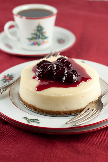 Cherry-topped Cheesecake