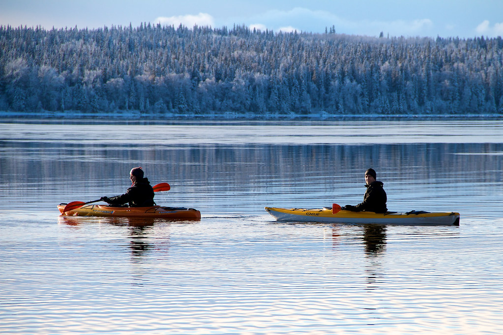 Kayak icebreakers