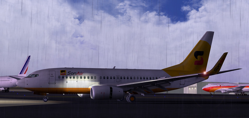 Sonair Boeing 737-700 5300409697_5dee8a777a_b