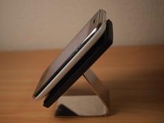iPhoneスタンド横