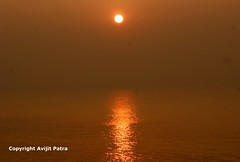 5AM (avipatra {Busy}) Tags: light sea beach nature sunrise reflections dawn