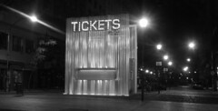 Tickets (Lara Lew) Tags: street city building night lights luces noche calle edificios buenosaires downtown centro ciudad nocturna