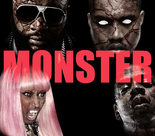 kanye west jay-z nicki minaj rick ross monster video