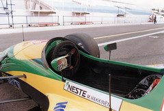 Lotus 107. (Wally Llama) Tags: lotus neste mikahakkinen teamlotus lotus107