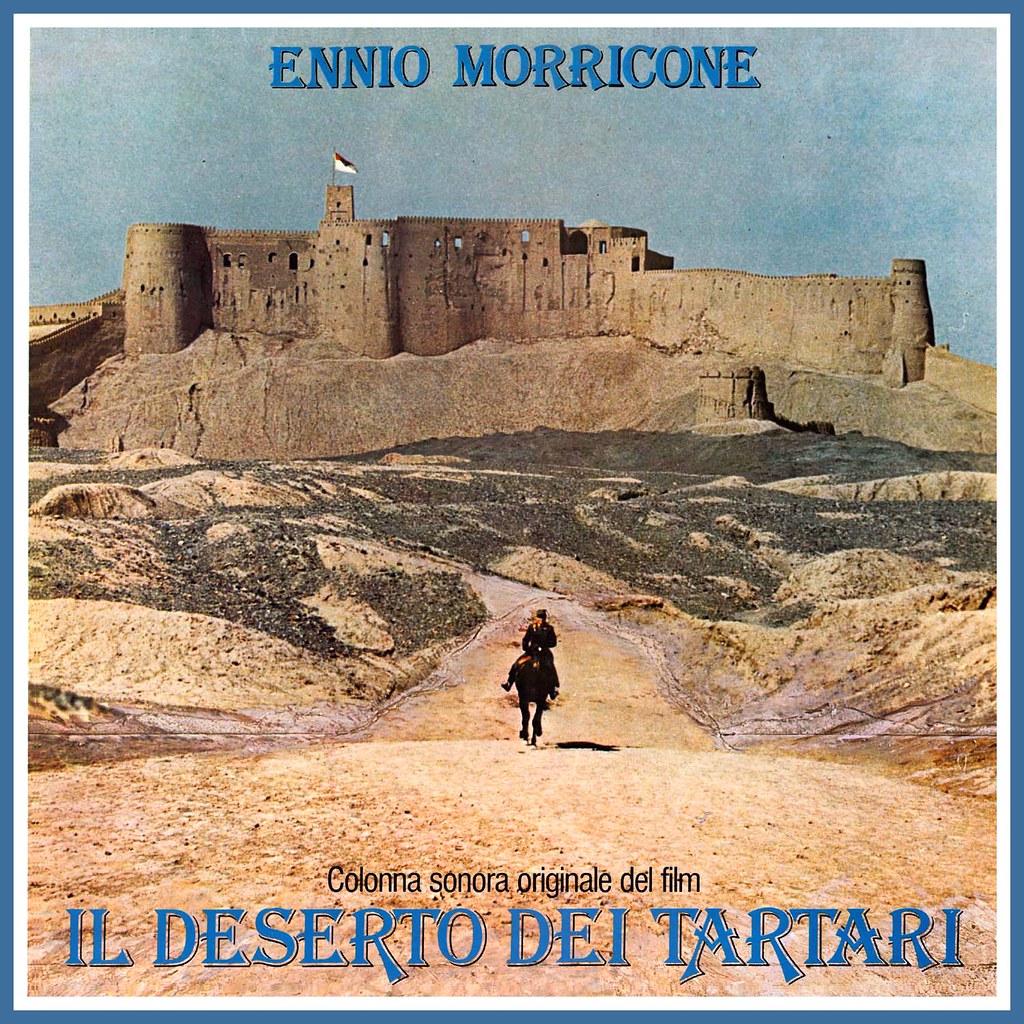 Resultado de imagem para ennio morricone the desert of tartars