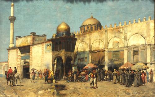 A Mosque Alberto Pasini (Italian, 1826–1899) 1886. MET, NYC