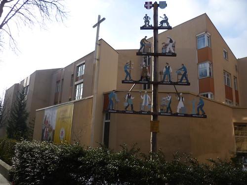 Wien 13 Bezirk L Arte Delle Facciate Di Vienna Don Bosco Haus