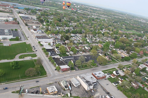2009 Balloon Festival View of Main Street in Speedway