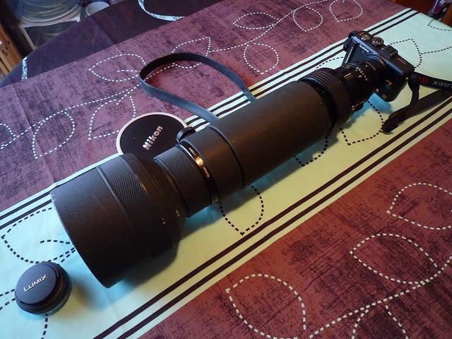 Nikon 400mm f/4.5 + AU-1 (transit de Vénus, 06 juin 2012) 5316582554_c215311ac2_z