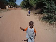 Enfants de la ville de Mopti