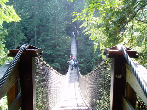 Lynn Canyon in Vancouver