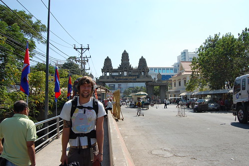 Arriving at the Kingdom of Cambodia