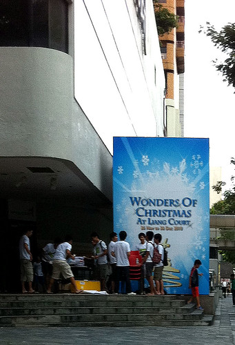 """Wonders of Christmas"" at Liang Court Dec 2010"
