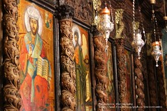 Nazareth, St. Gabriel's Church (blauepics) Tags: gabriel church painting israel palestine faith religion kirche icon carving east middle orthodox osten palstina malerei glaube ikone holzschnitzerei mittlerer