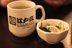 Edomasa - tea and salad