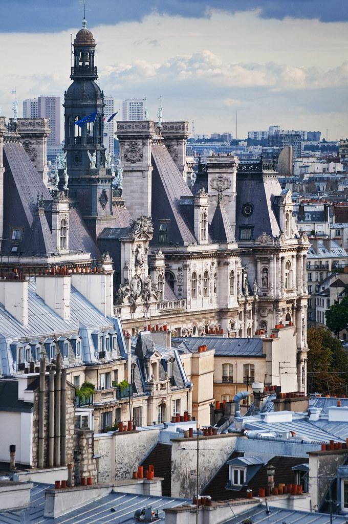 France - Paris - Hotel de Ville