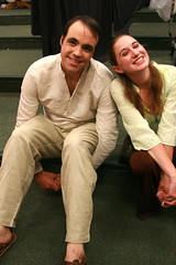 Adam and Yonah (snelly23) Tags: costumes actors theater july musical top10 backstage