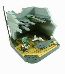 Defending Bal'demnic. (Lego Junkie.) Tags: star lego wars clone baldemnic