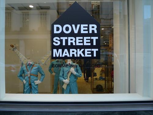 Vitrines Dover Street Market/Comme des Garçons - Londres, novembre 2010
