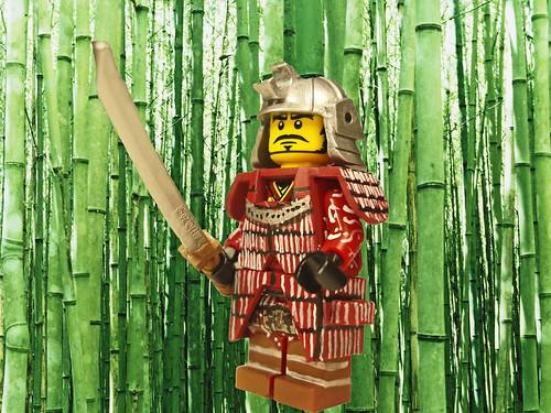Samurai custom minifig