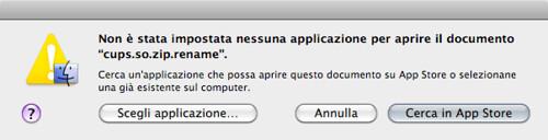 Cerca in (Mac) App store