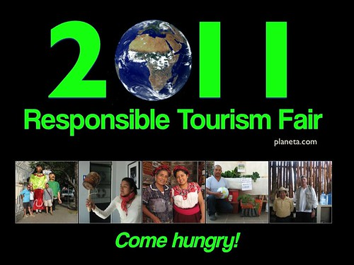 2011 Responsible Tourism Fair: Come Hungry