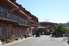 mexican hat resort (gigarimini (busy on/off)) Tags: park travel rock stone navajo monumentvalley mexicanhat