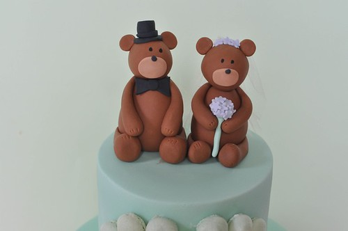 Teddy Bride and Groom